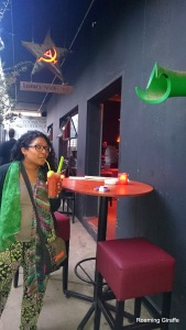 Mzansi Girl at Lenins Vodka Bar