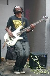 guitarist Neighbourgoods Market