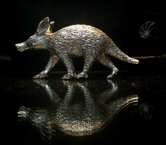 Pewter Sculpture by Bruce Little