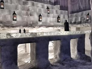 The Ice Bar at Snow World Di Brown