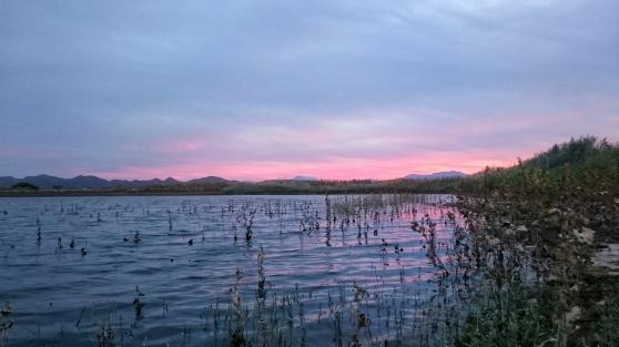 DeZeekoe dam sunset Di Brown