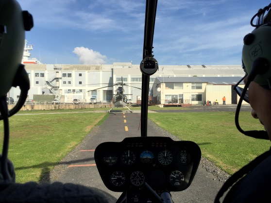 NAC HELICOPTERS TAKE OFF DI BROWN